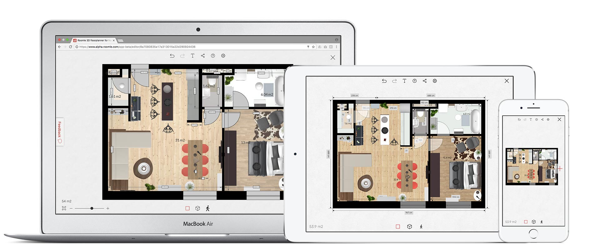 Free And Simple 3d Floorplanner For Your Design Ideas Roomle