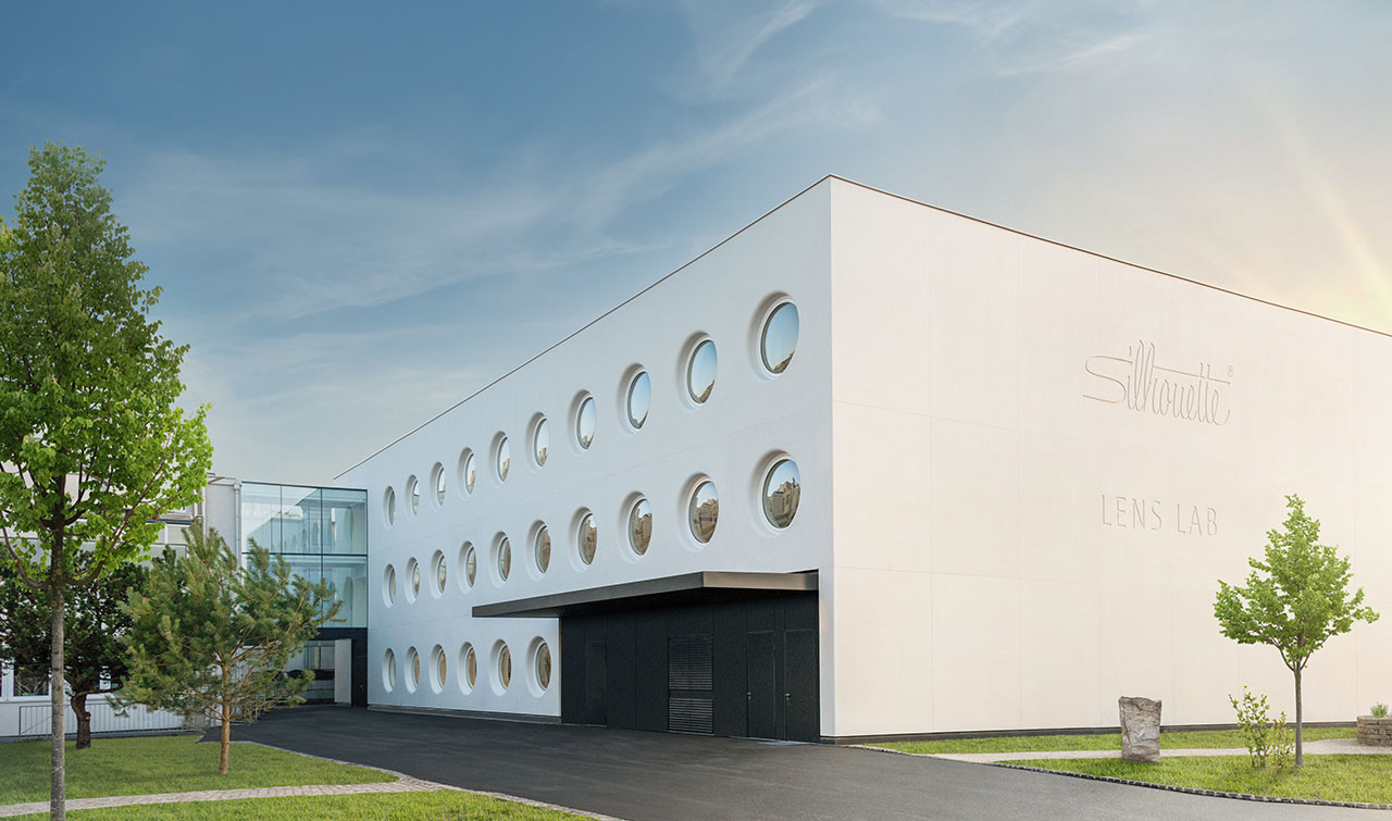 Silhouette Lens Lab in Linz where Vision Sensation ™ lenses are manufactured