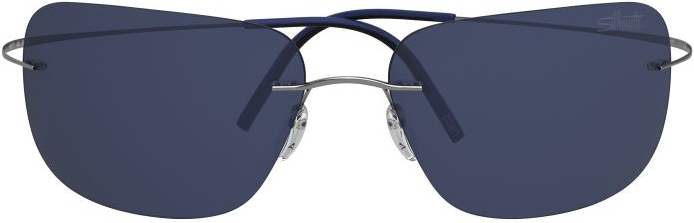 Titan Minimal Art Ultra Thin 8677 in Cobalt Blue