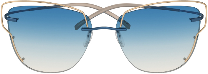 Titan Minimal Art Atwire 8162 in Blue Nude