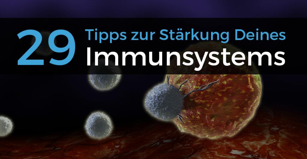 Immunsystem stärken Abwehrkräfte