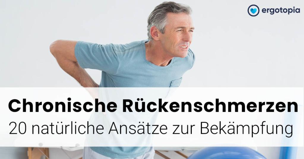 chronische Schmerzen Rücken