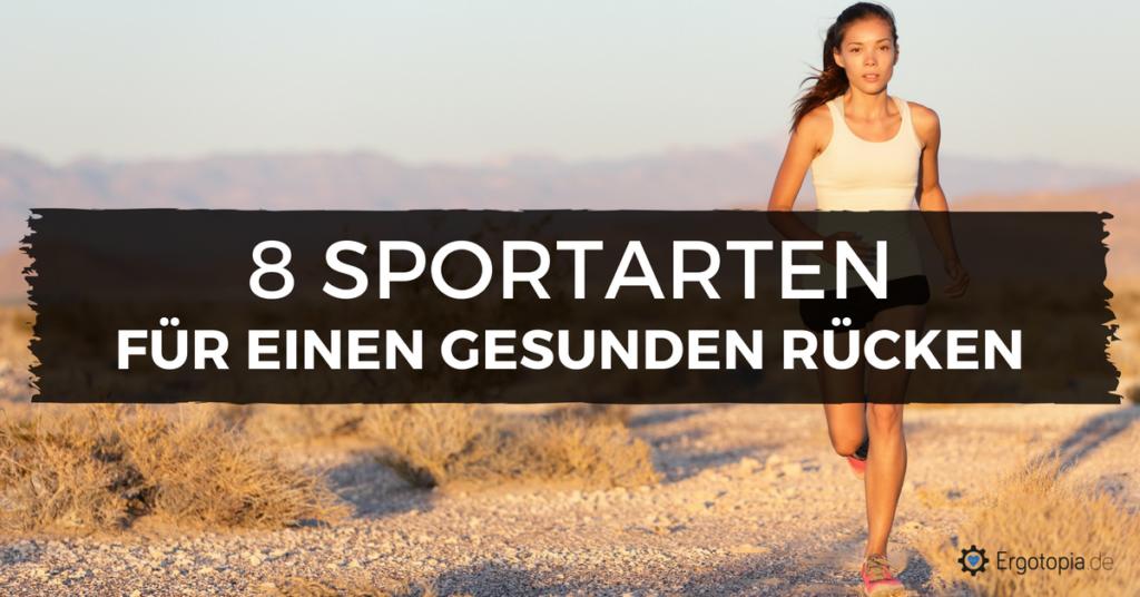 Sport gegen Rückenschmerzen
