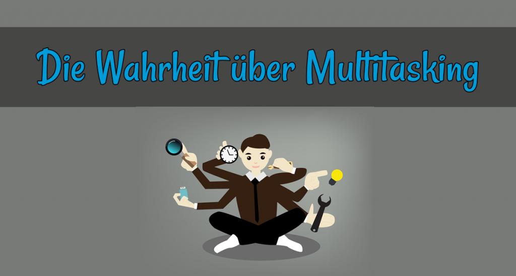 Multitasking Produktivität Widerspruch