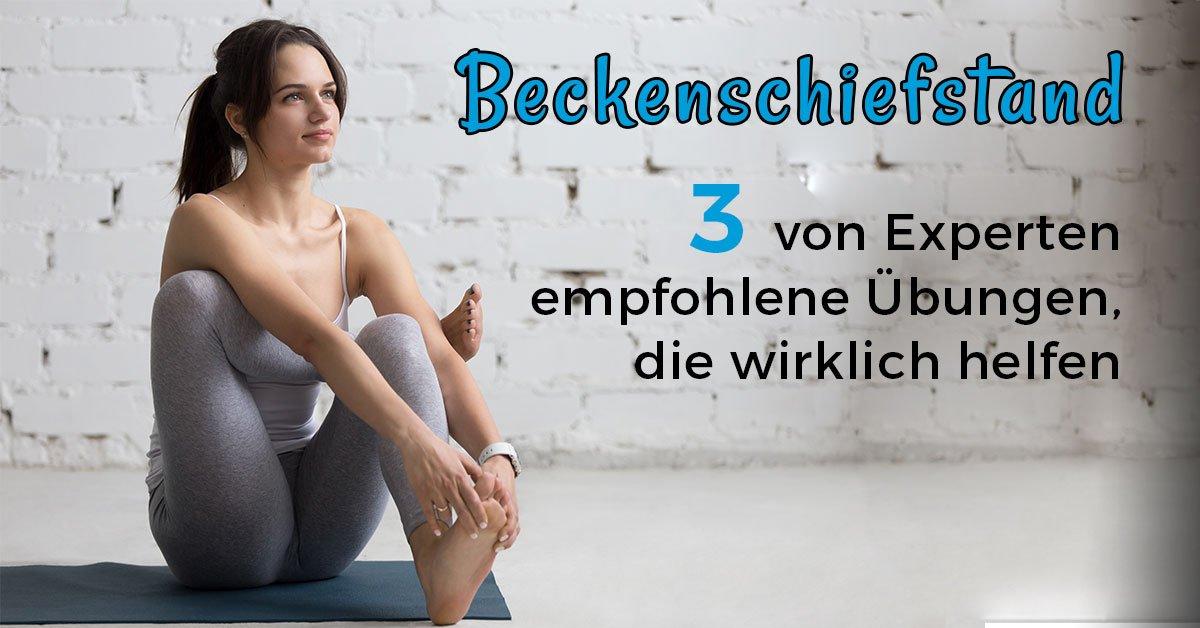 Beckenschiefstand korrigieren Übungen