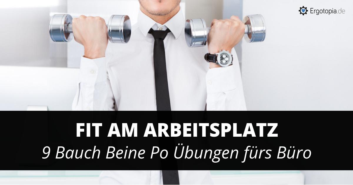 Bauch Beine Po Büro Workout