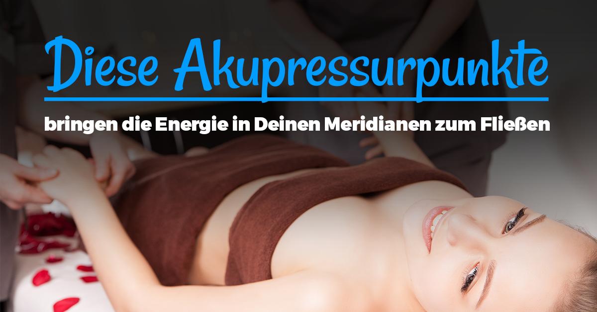 Drücke diese Akpressurpunkte als Alternative zu Akupunktur