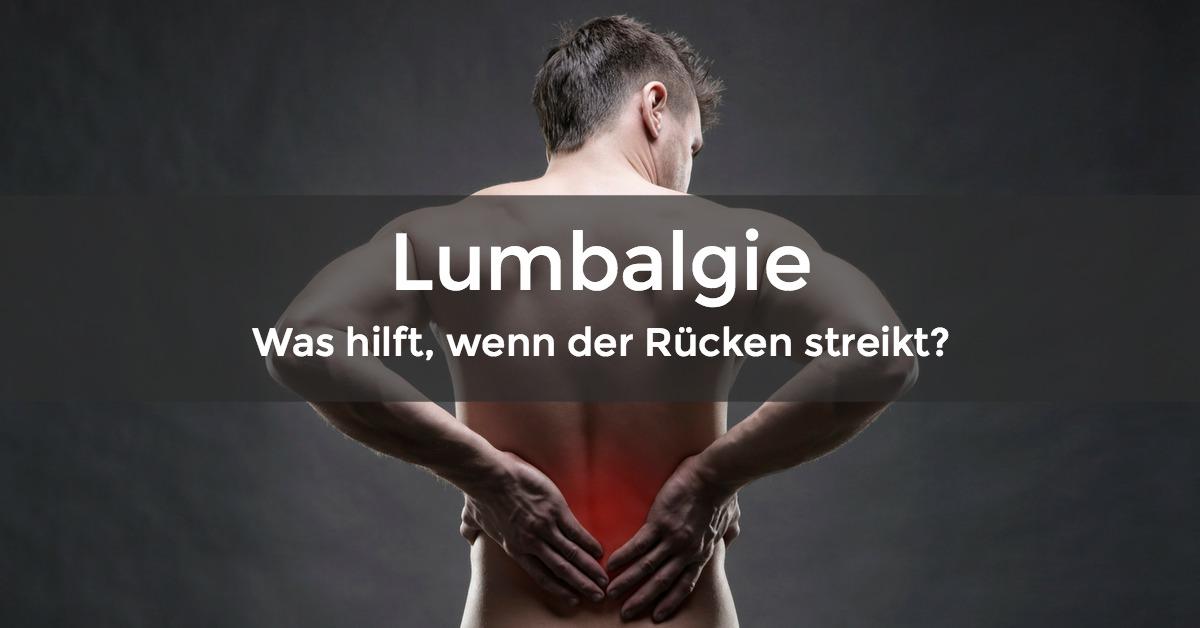 Lumbalgie vermeiden