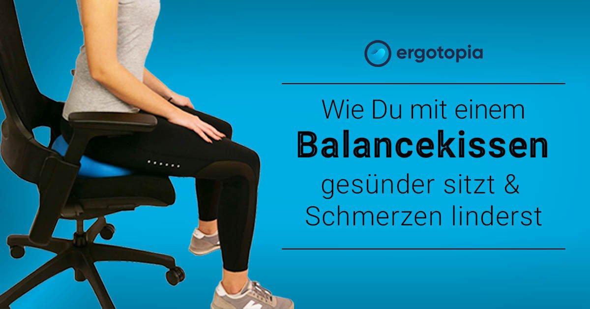 Balancekissen Wirkungen Übungen