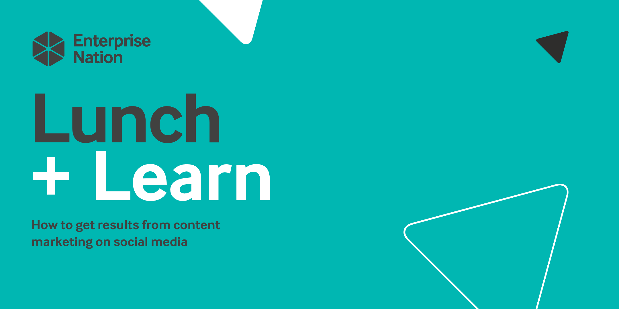 Lunch and Learn: How to get results from content marketing on social media