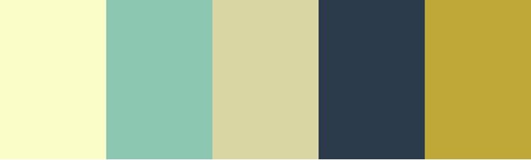 custom colour palette