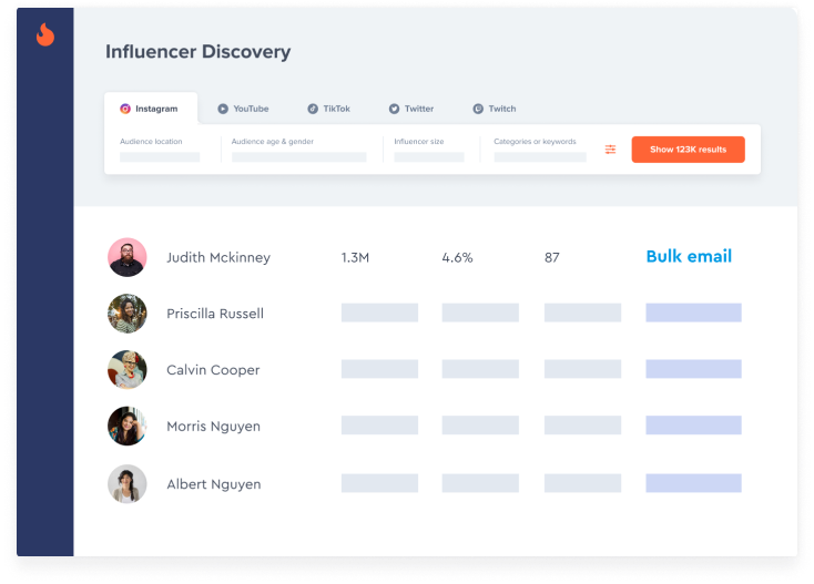 Easily Add Influencers from Your Favorite Tools