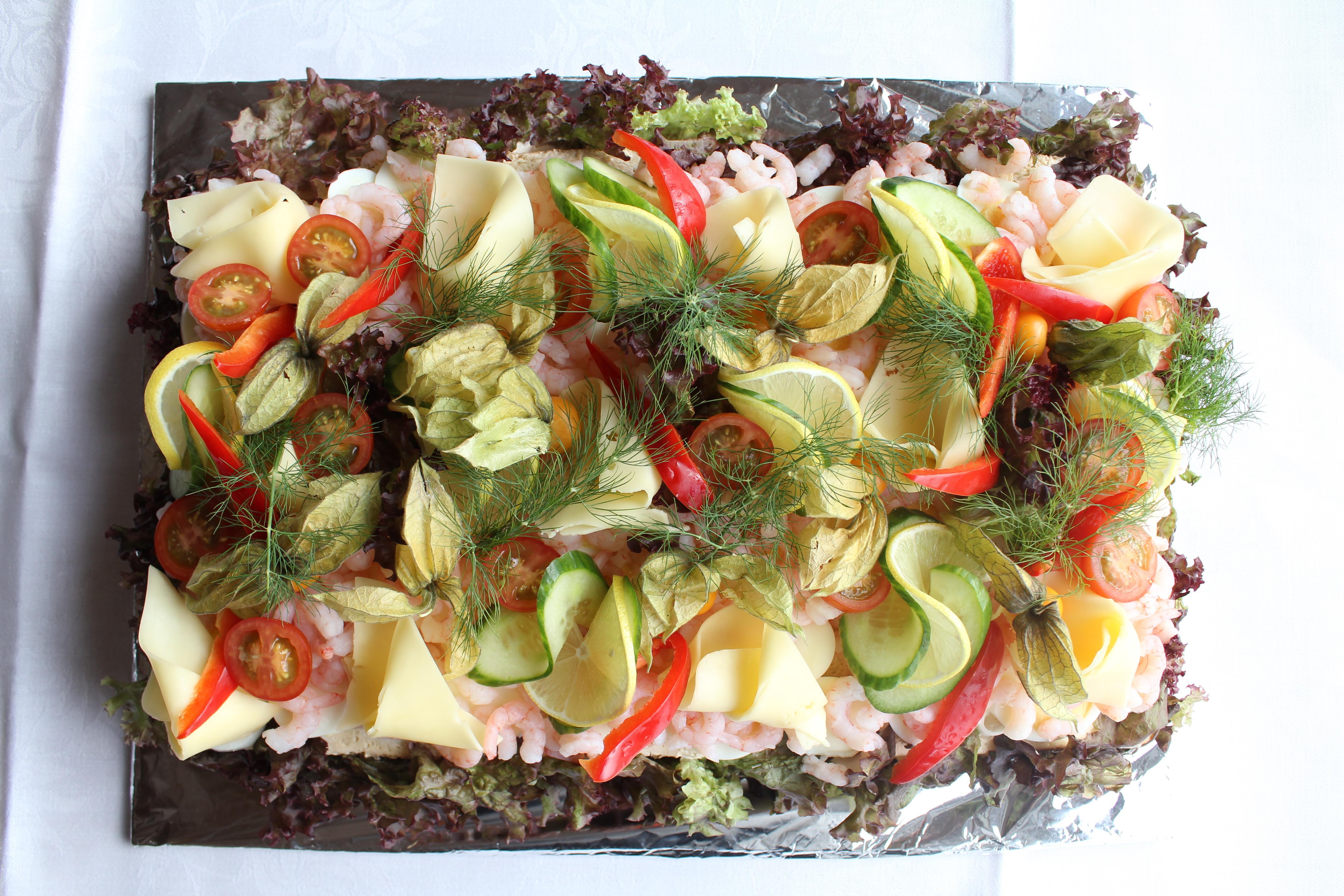 Smörgåstårta Liljeholmen Matsal