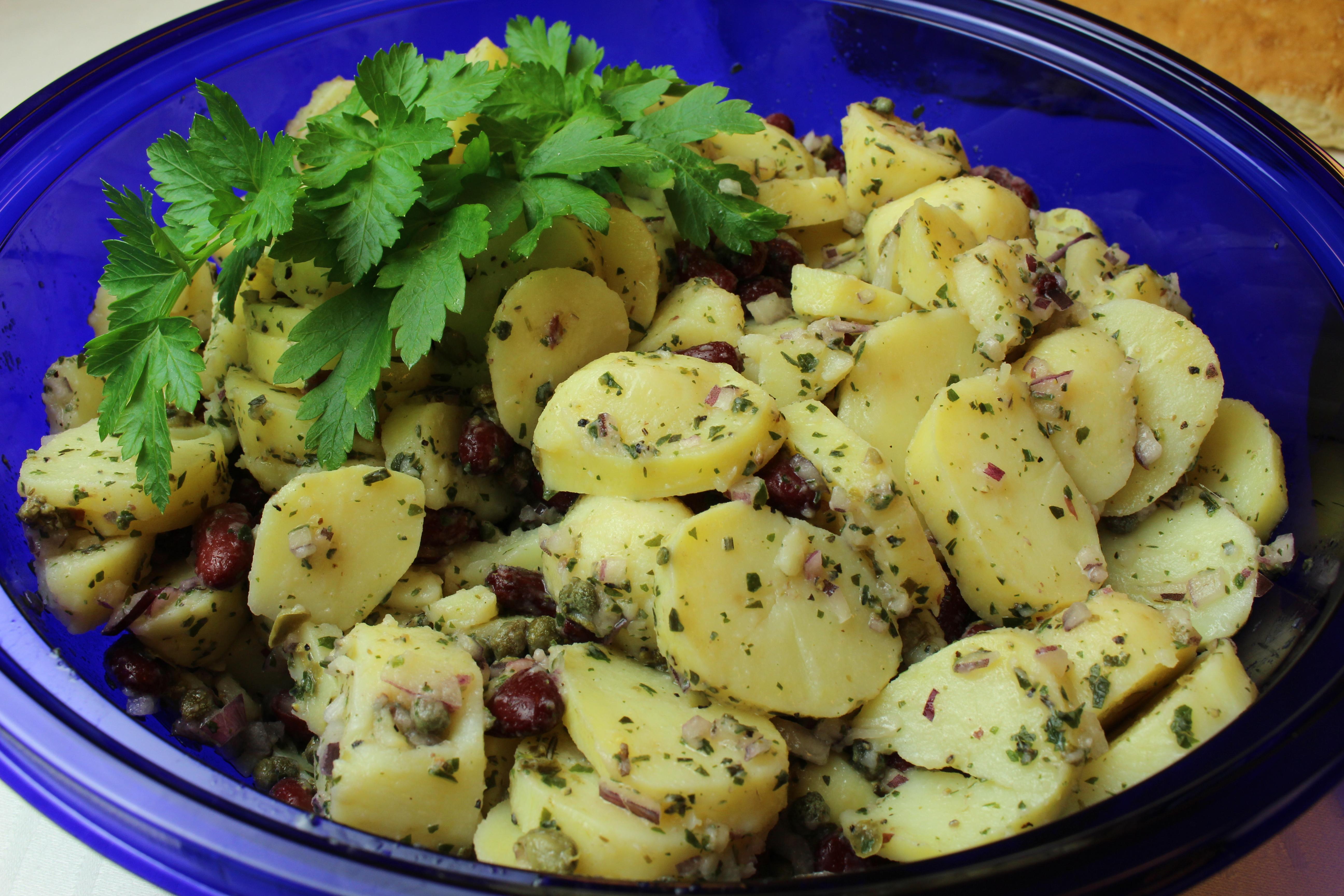 Catering potatissallad Liljeholmen Matsal