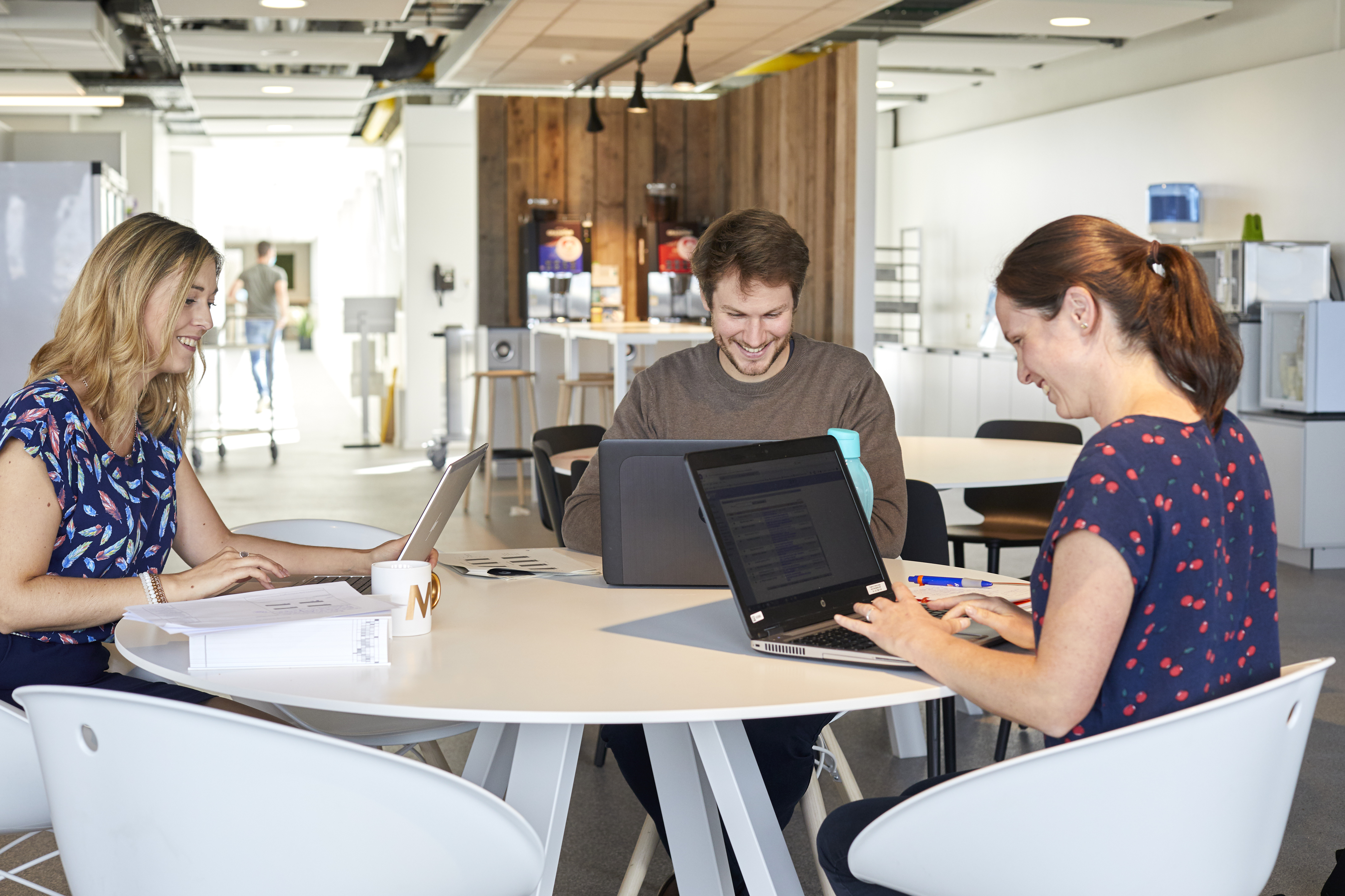 Colruyt Group employees working in the office