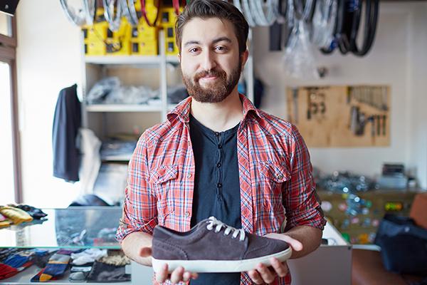 Lojista de calçados