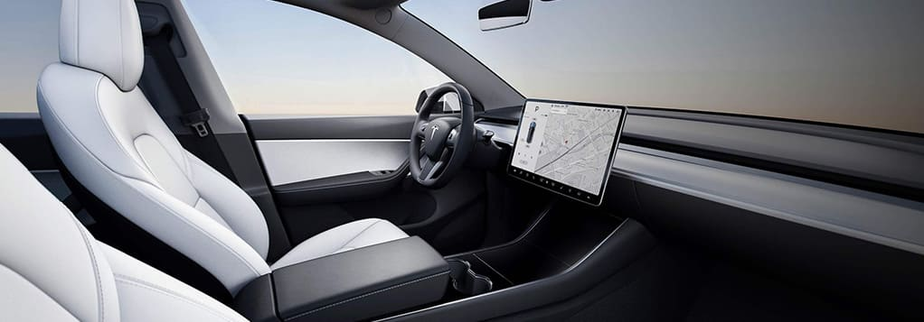 Tesla Model Y interieur