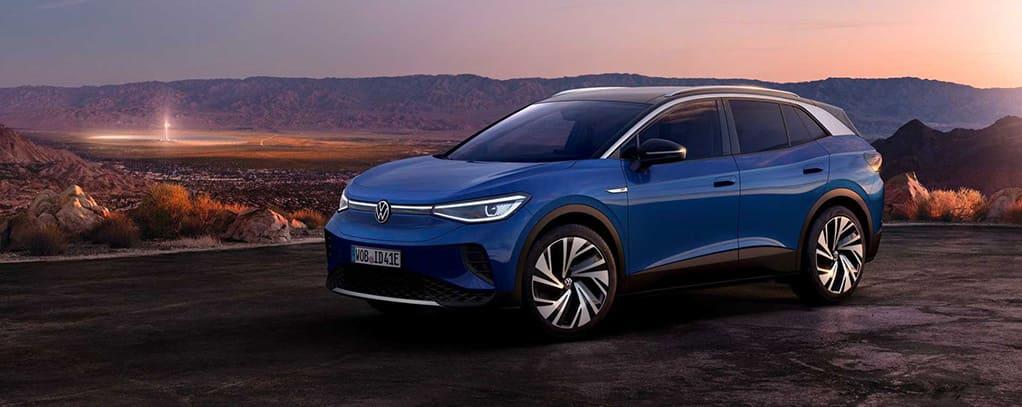 Volkswagen ID4 blauw