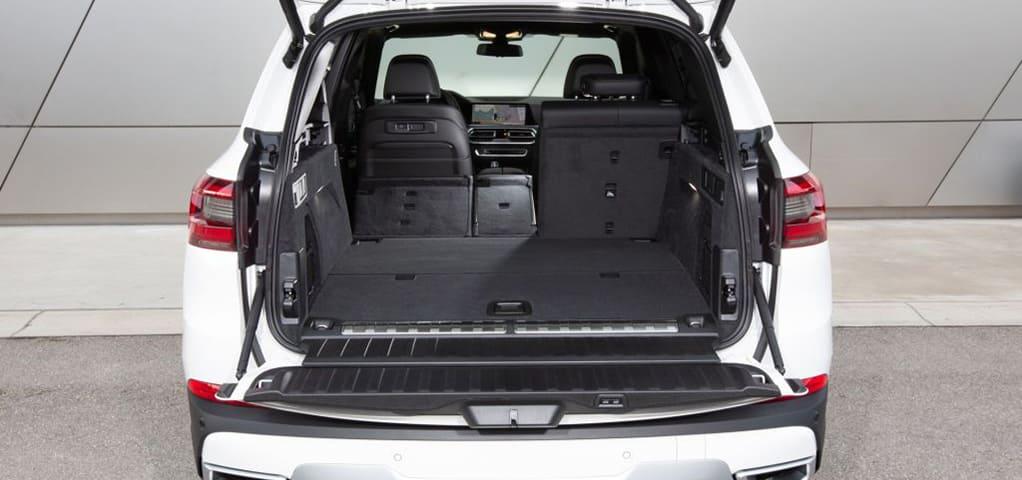 bmw x5 plug-in hybride kofferbak