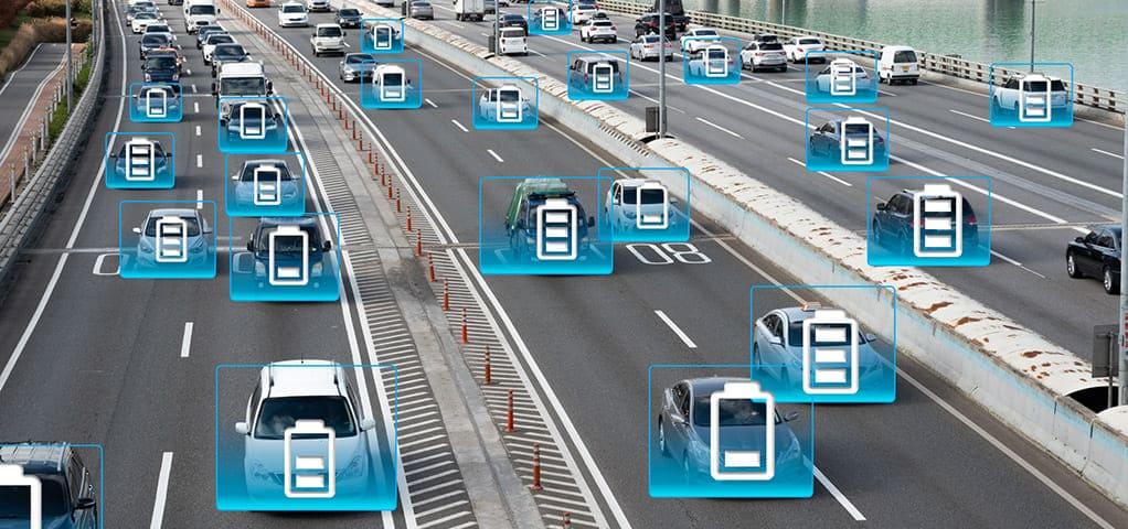 elektrische auto's snelweg