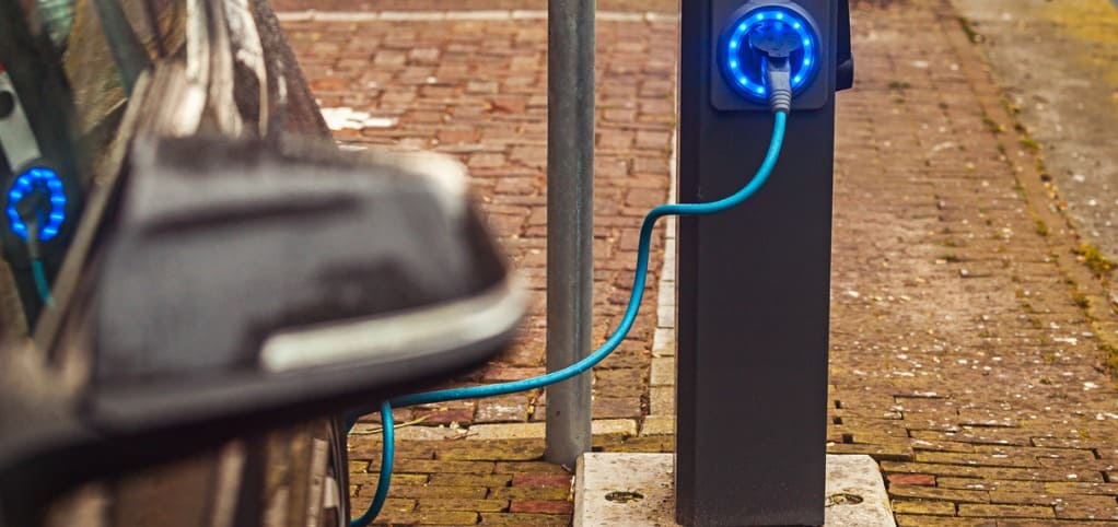 elektrisch wagenpark opladen