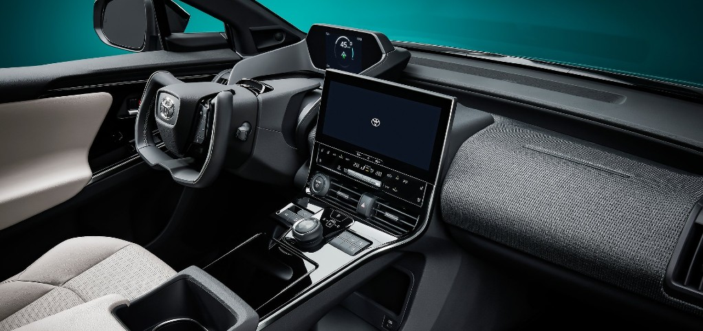 Toyota bZ4X design