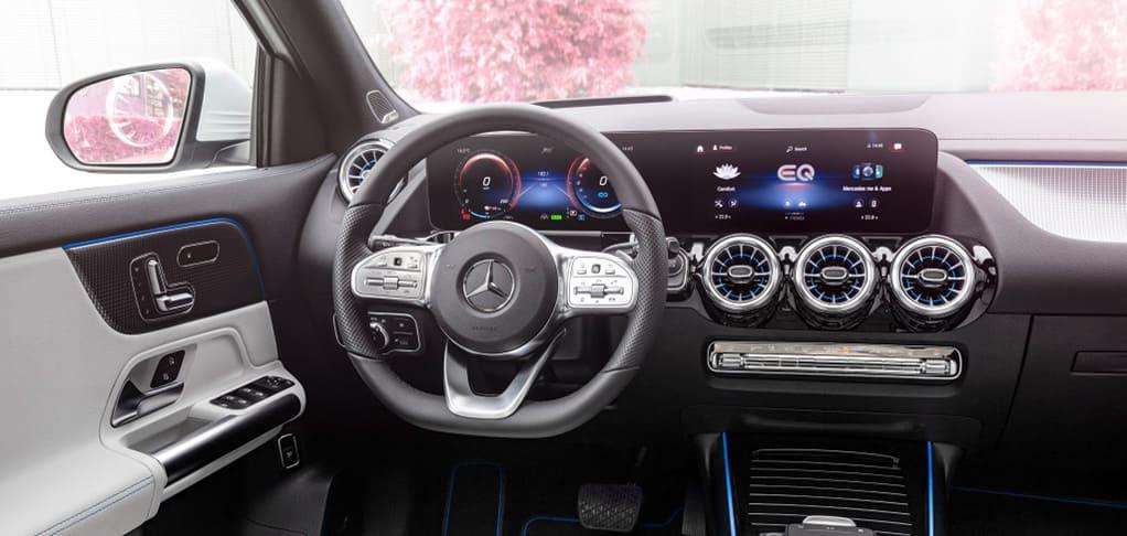 Mercedes EQ elektrische auto