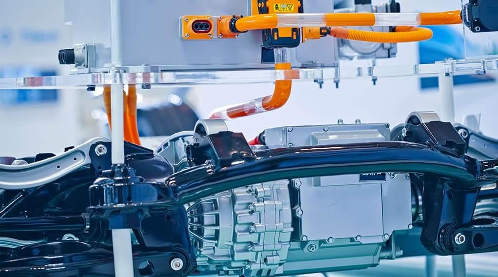 batterij elektrische auto