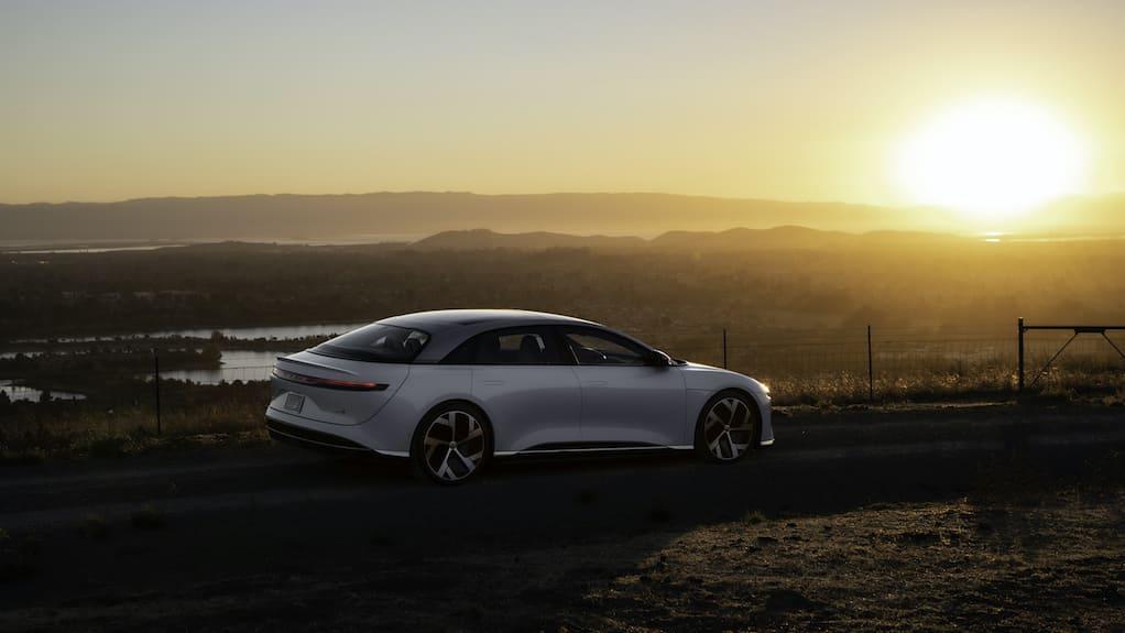 Lucid Air concurrent van de Tesla?