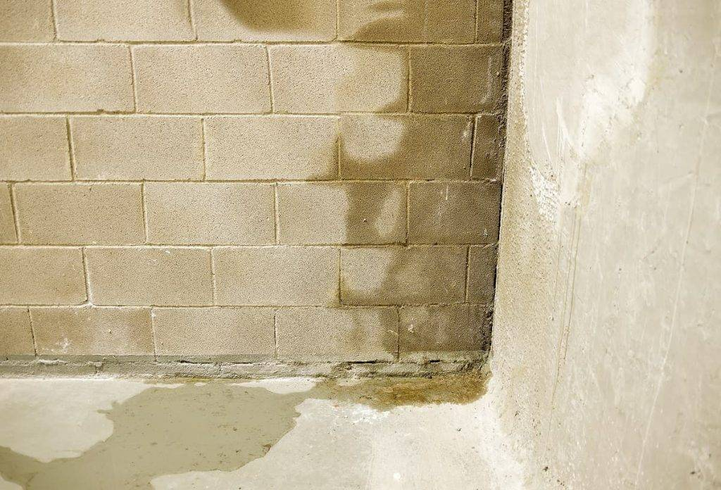 fuite mur