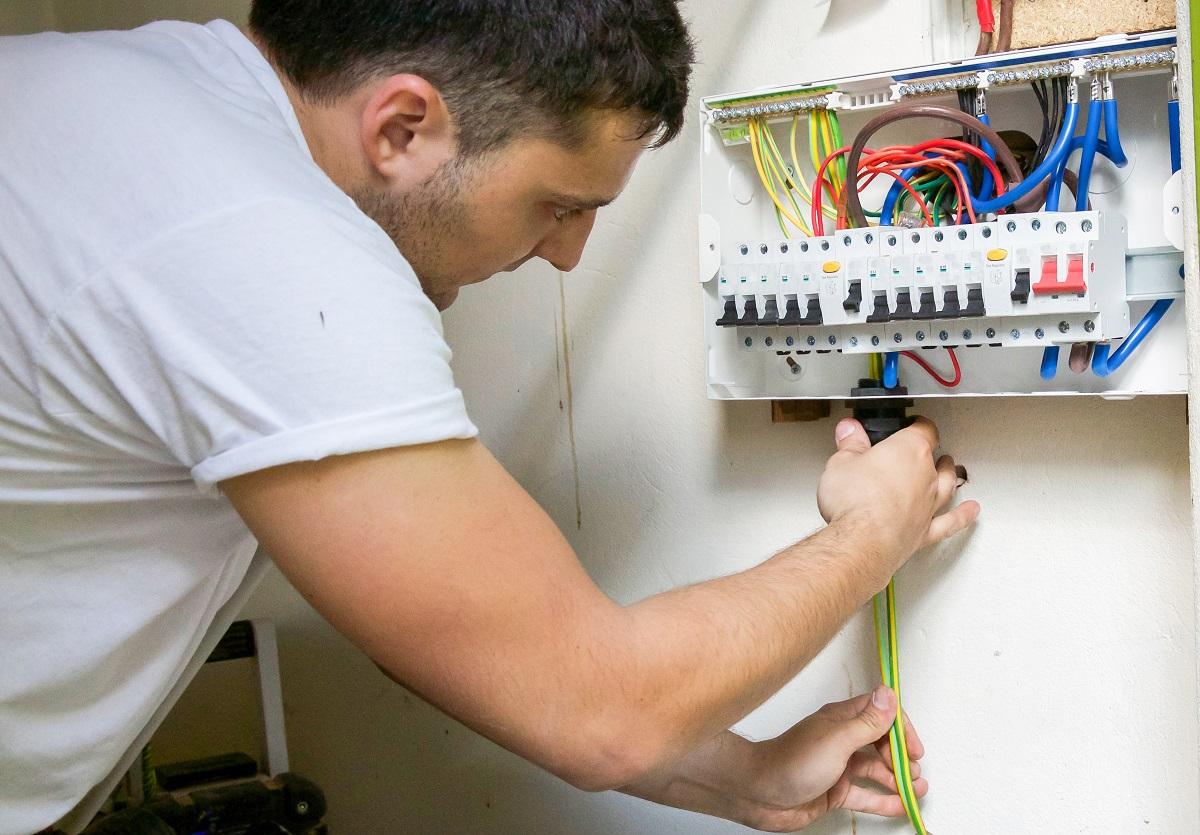 câbler éléectricité