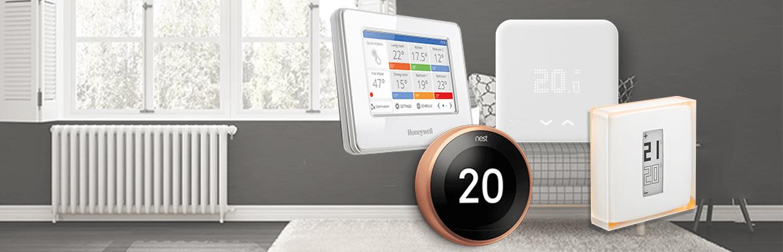 smart thermostat range