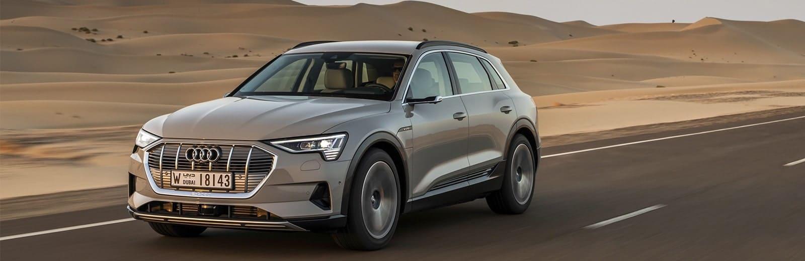 Audi e-tron EV range