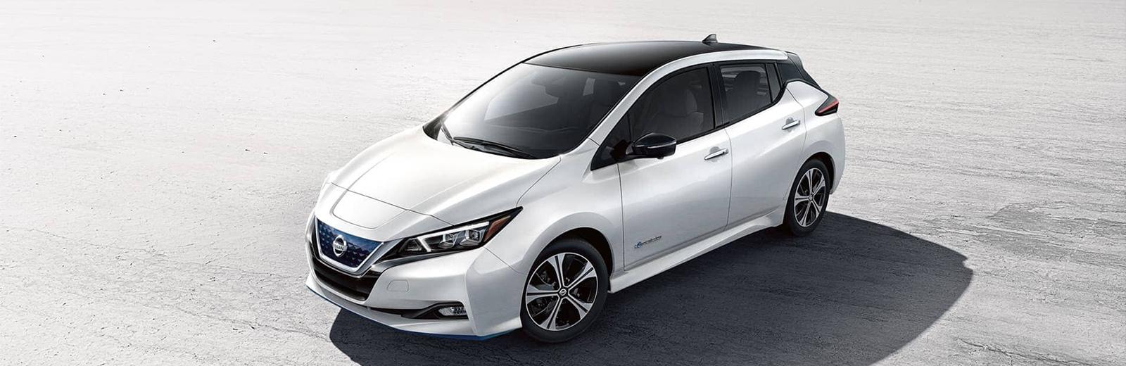 Nissan Leaf EV range