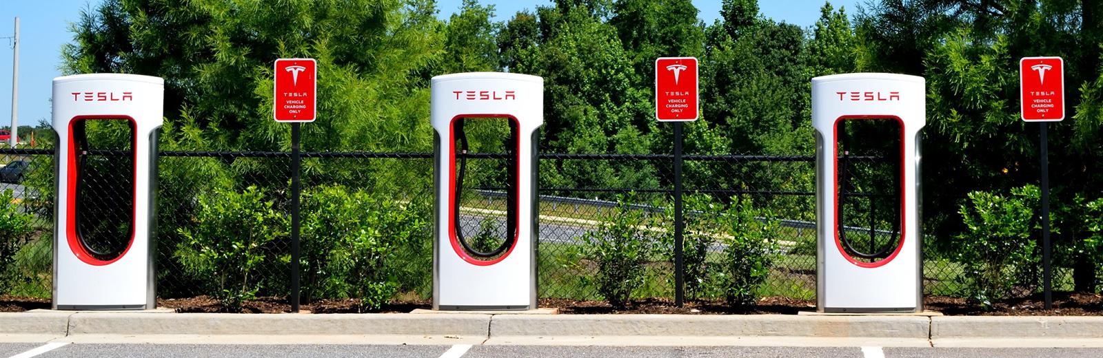 Tesla public superchargers