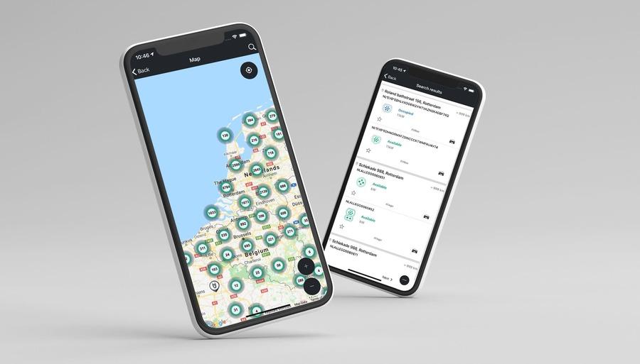 50five GO app header