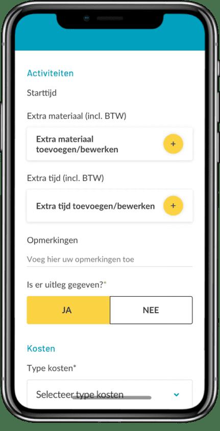 material list app