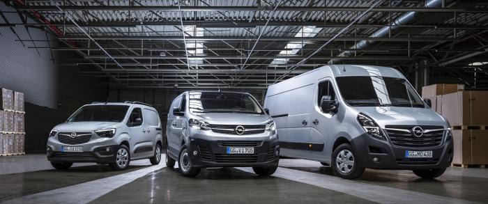 Opel Movano, Combo en Vivaro