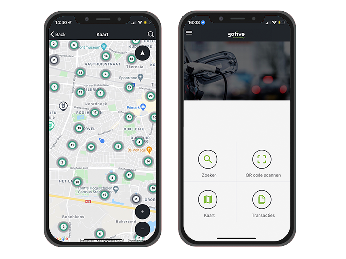 50five GO app