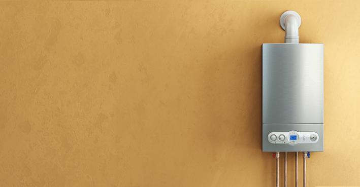 boiler blank wall