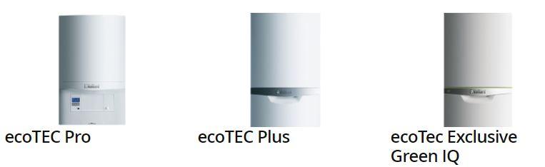 ecoTEC, ecoTEC Plus and ecoTec Exclusive Green IQ