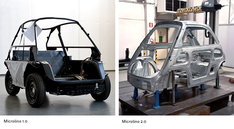 Microlino 1.0 vs Microlino 2.0