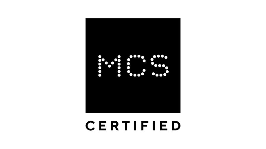 MCS certified logo
