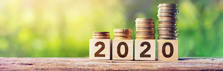muntgeld in 2020