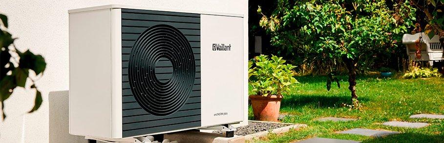Vaillant aroTHERM air source heat pump