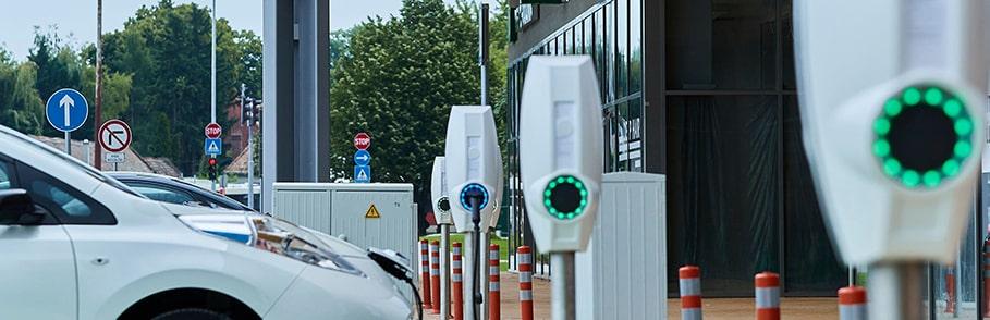 Public EV charge stations