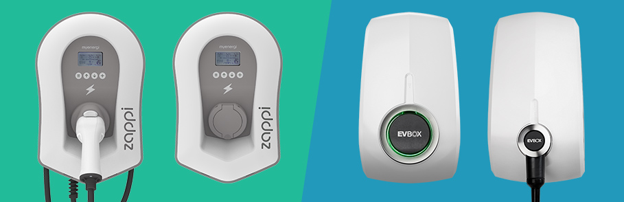 evbox and zappi chargers