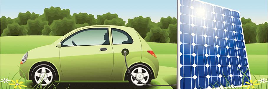 Thuisaccu met elektrische auto