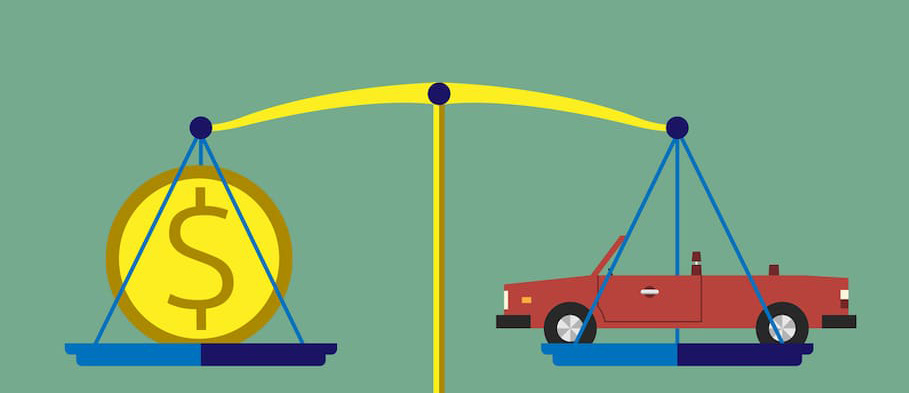 geld besparen auto weegschaal