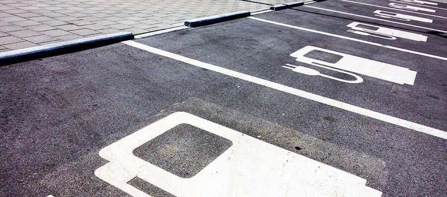 Subsidie voor laadpalen - parkeerplaats